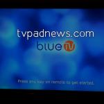 BlueTV Welcome Screen